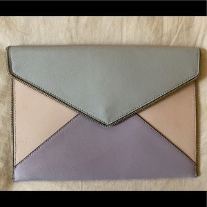 Rebecca Minkoff Leather Envelope Clutch